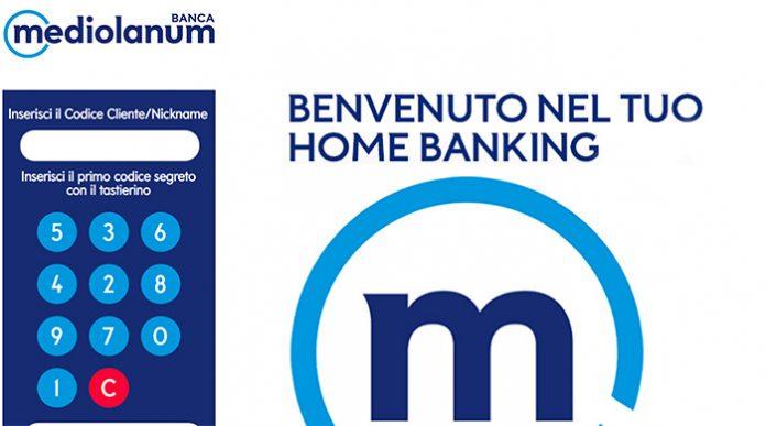home banking banca mediolanum