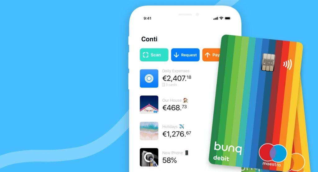 home banking app bunq