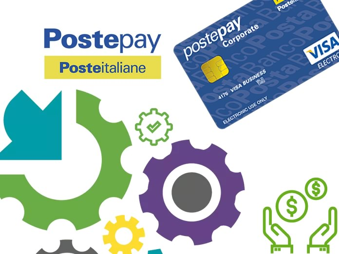 Carta prepagata PostePay Corporate Ingranaggio