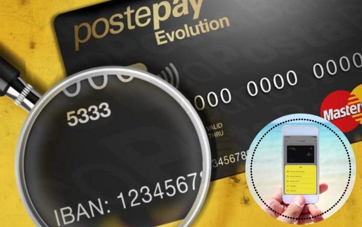 Carta prepagata PostePay Evolution Smartphone